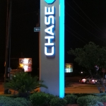 Monument Sign Chase Bank