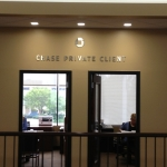 Chase Private Client Office Interior Letters