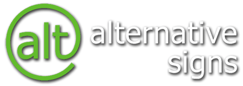 Alternative Signs Retina Logo