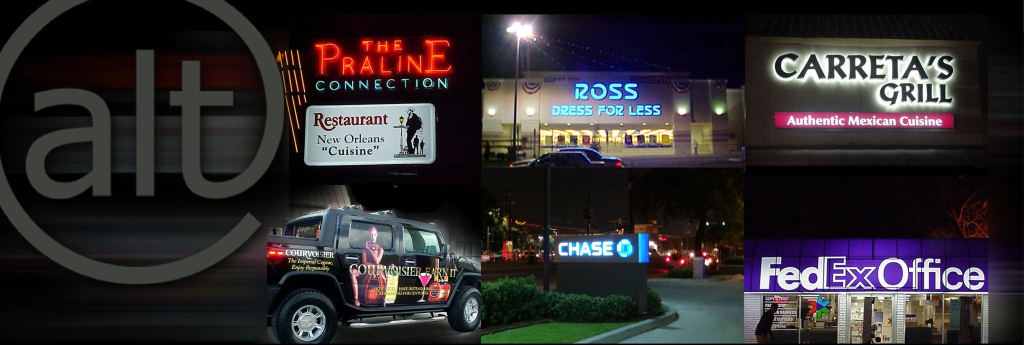 Sign Company in New Orleans, Metairie, Kenner, Gretna, Marrero, Harvey, Slidell, Mandeville, Covington, Hammond, Baton Rouge, & Laplace
