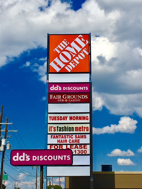 Sign variance approved for DD'd Discount in Gretna Louisiana
