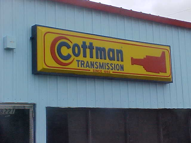 Sign service in Marrero for Cottman Transmission