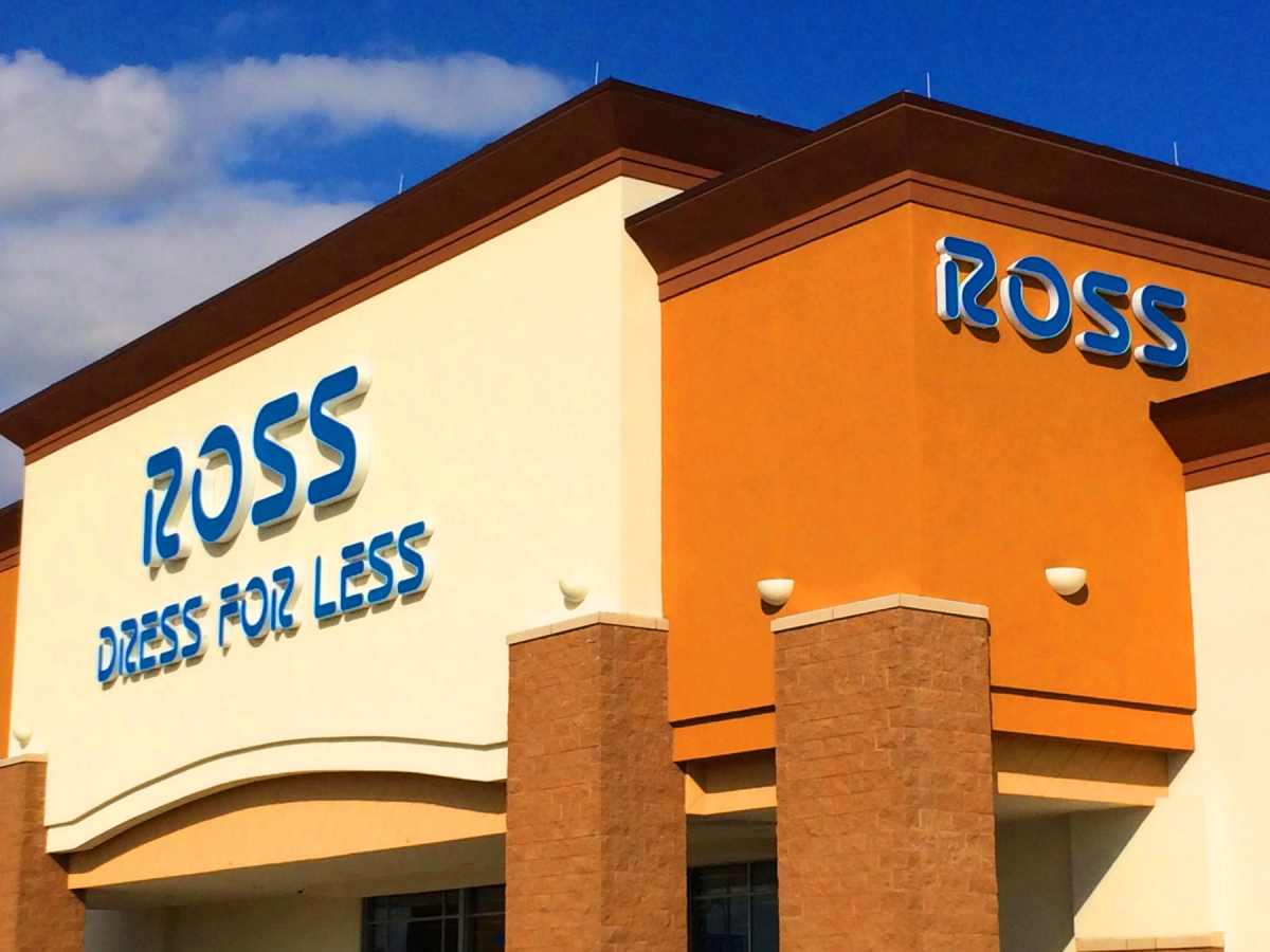 Signs made in New Orleans Louisiana channel letter signs for Ross Dress for Less