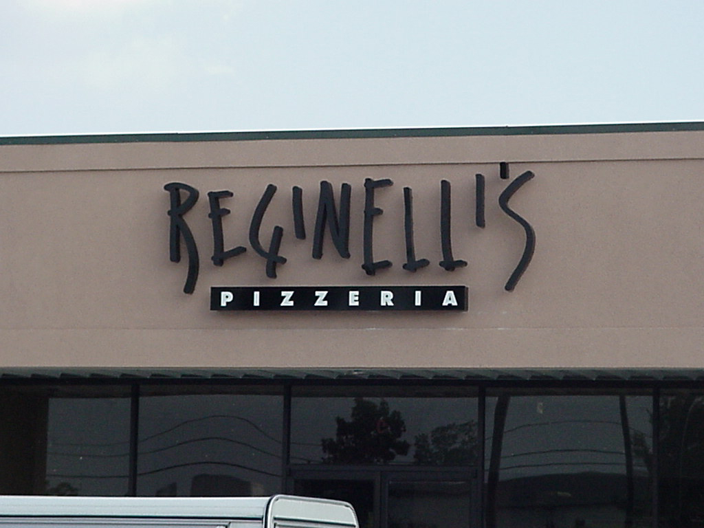 Install channel letters for Reginellis in Harahan