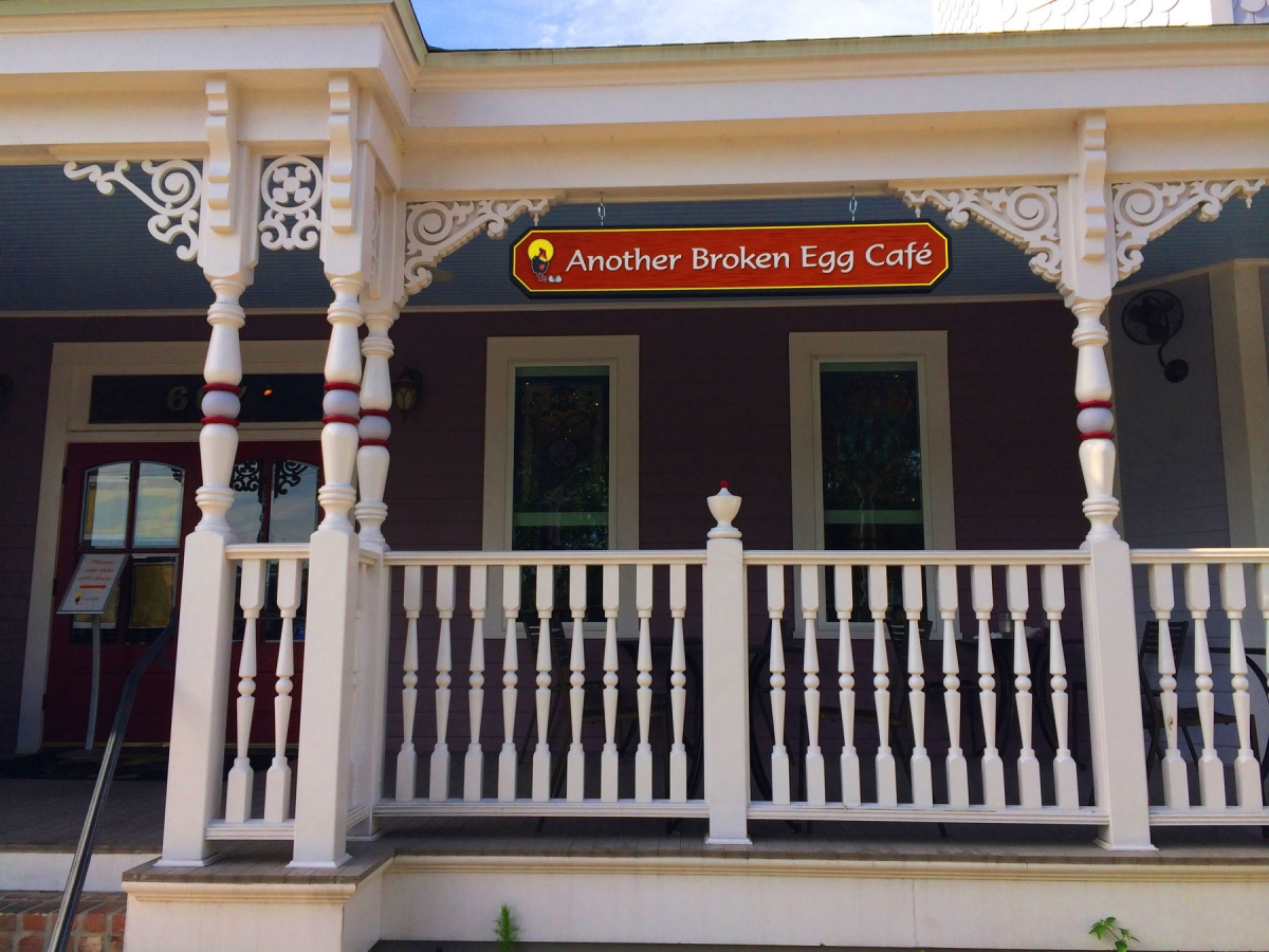 Signs made in New Orleans custom for Another Broken Egg Cafe