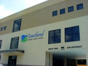 Signs made and installed Metairie metal dimensional letters for Coastland Bank