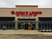 Sign installed Metairie Louisiana channel letters for Anna's Linens