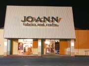 Sign installation Kenner Louisiana channel letters for Joann Fabrics