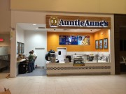 Sign installed in New Orleans channel letters for Auntie Anne's Riverwalk