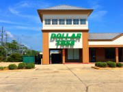 Channel letters installed in Slidell Louisiana for Dollar Tree