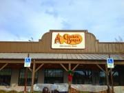 Install sign Hammond for Cracker Barrel restaurant