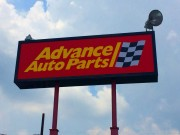 Sign service in Kenner Louisiana for Advance Auto Parts