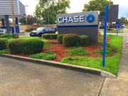 Sign installed in Metairie Chase bank