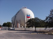 Commercial graphics made in Harahan for Chevron paint in Belle Chasse Louisiana
