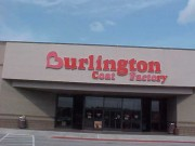 Channel letters installed in Slidell Louisiana for Burlington Coat Factory