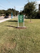 Signs made in Hammond Louisiana for Southeastern Louisiana University campus signage package